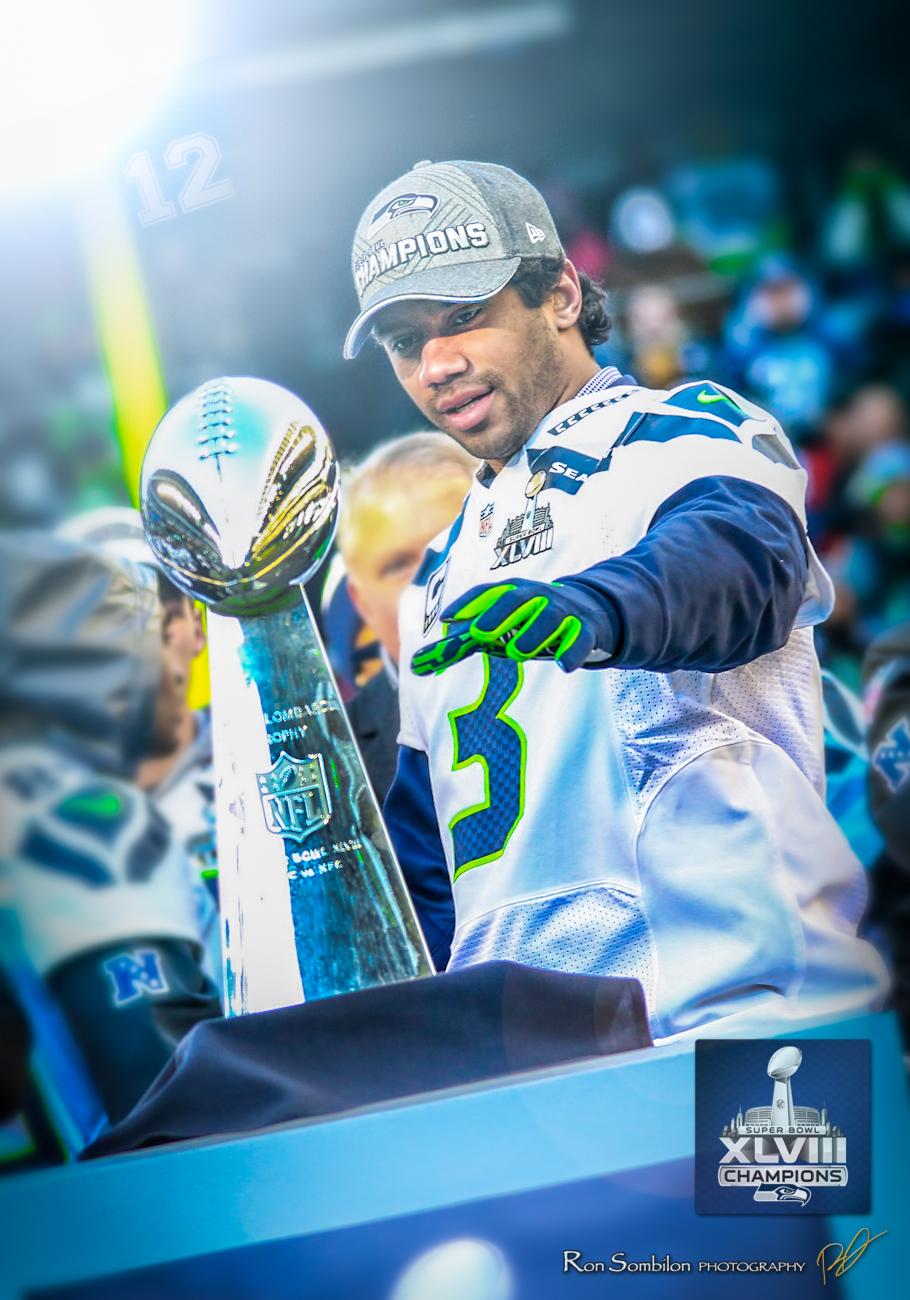 4 - VINCE LOMBARDI TROPHY - Seattle Seahawks Super Bowl XLVIII Ron Sombilon Photography-173-